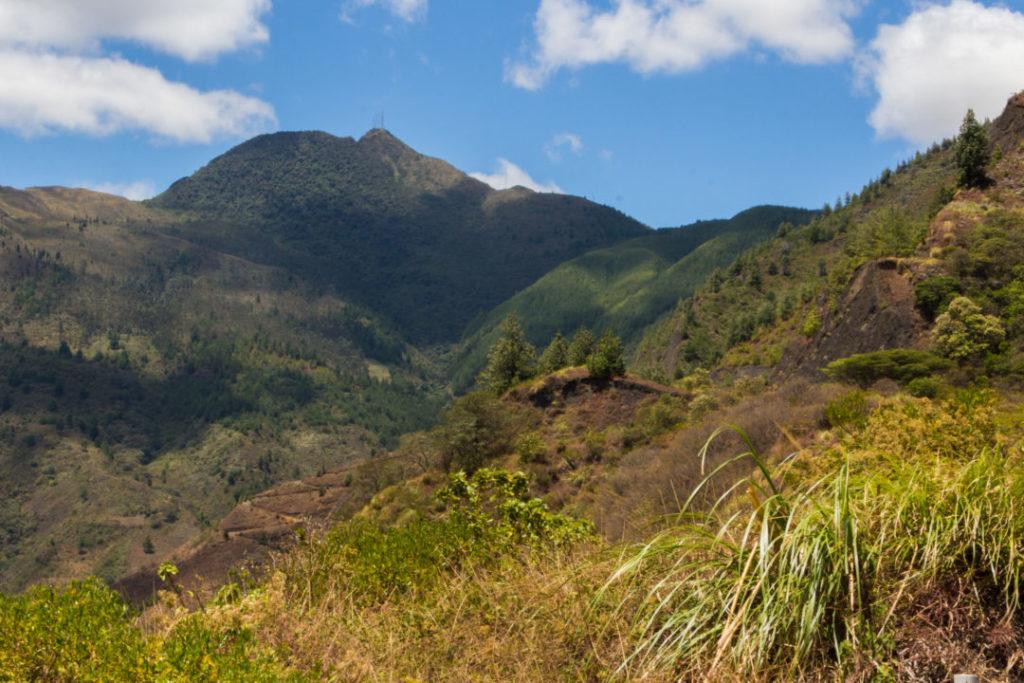Entre Macara et Loja - Paysage