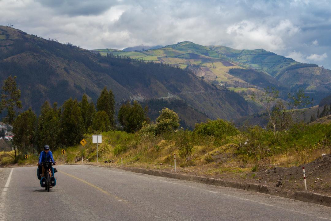 Entre Riobamba et Baños - Pauline