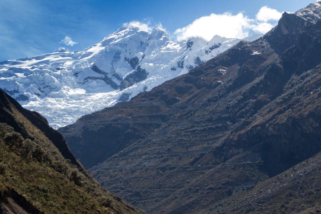 Parc Huascaran - Montée au col Punta Olimpica
