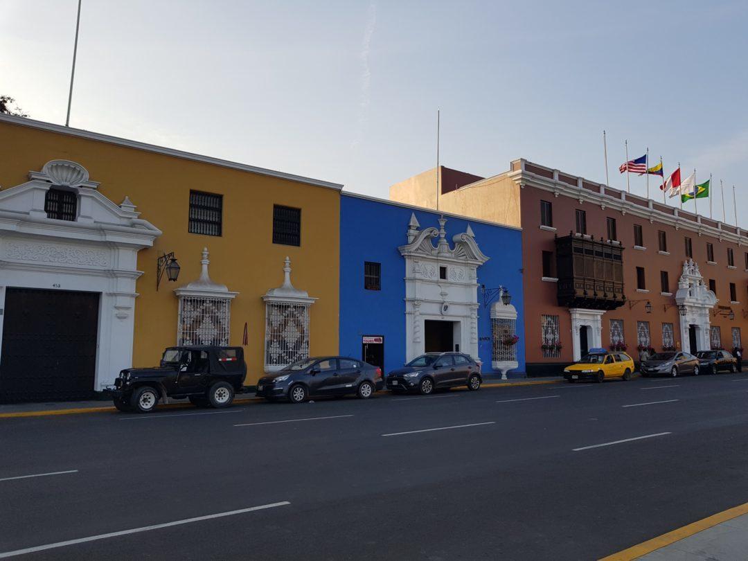 Trujillo - Bâtiments coloniaux
