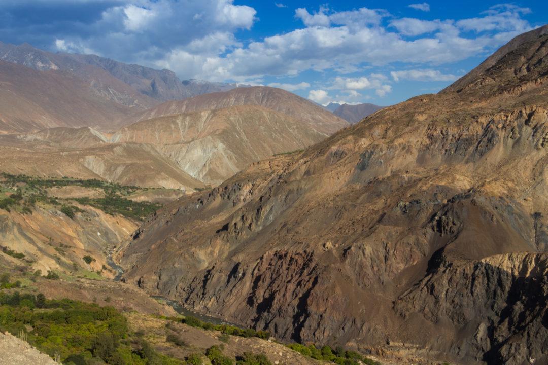 Vallée Rio Santa - Paysage