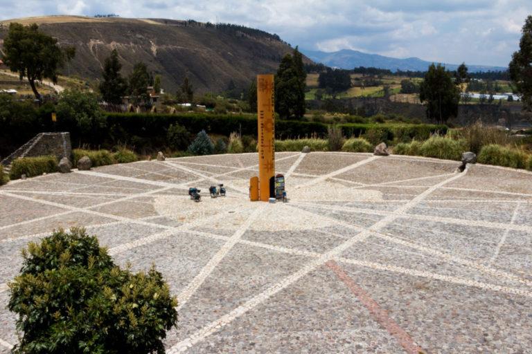 Ligne de l'Equateur - Quitsato à Cayambe
