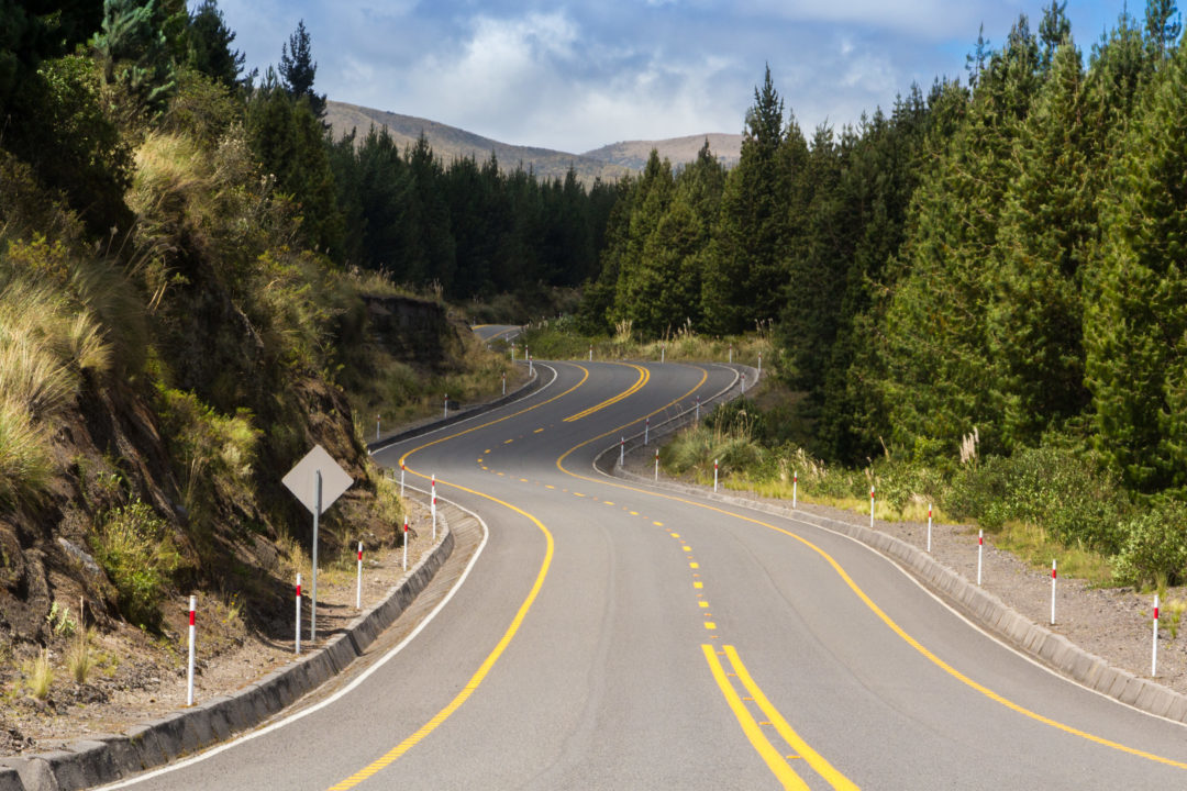 Parc national Cotopaxi - Route