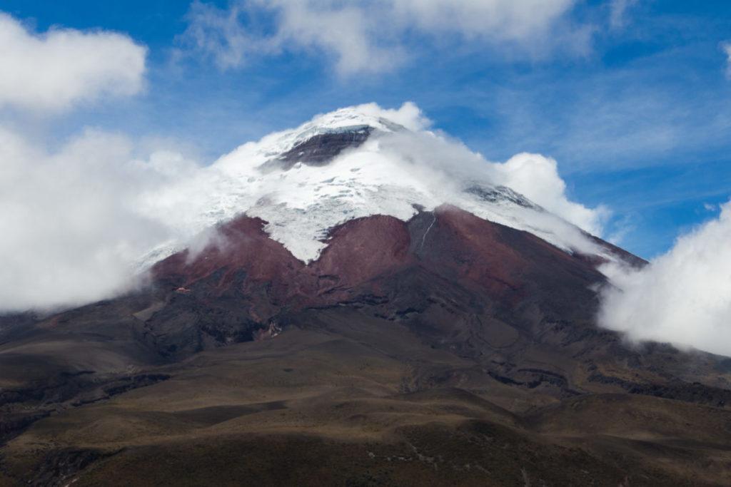 Parc national Cotopaxi - Volcan dans les nuages