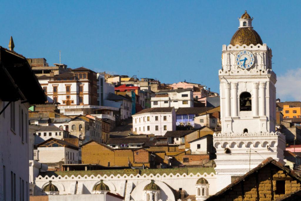 Quito - Eglise