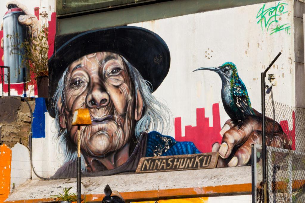 Quito - Graffiti
