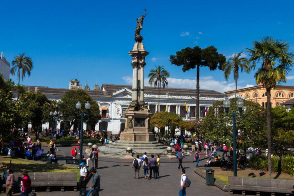 Quito - Plaza de la Independencia