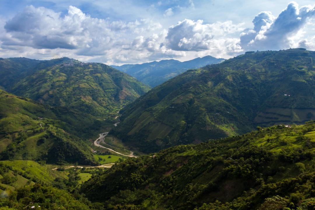 El Eje Cafetero - Paysage de vallée