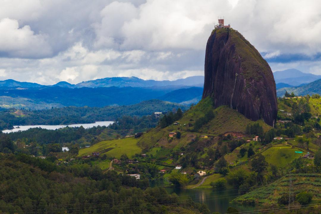 Guatapé - Vue du Penol