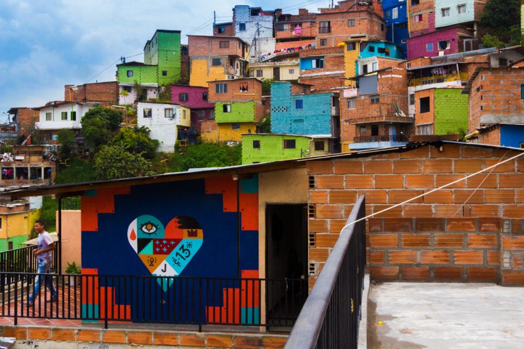 Medellin - Comuna 13 Maisons