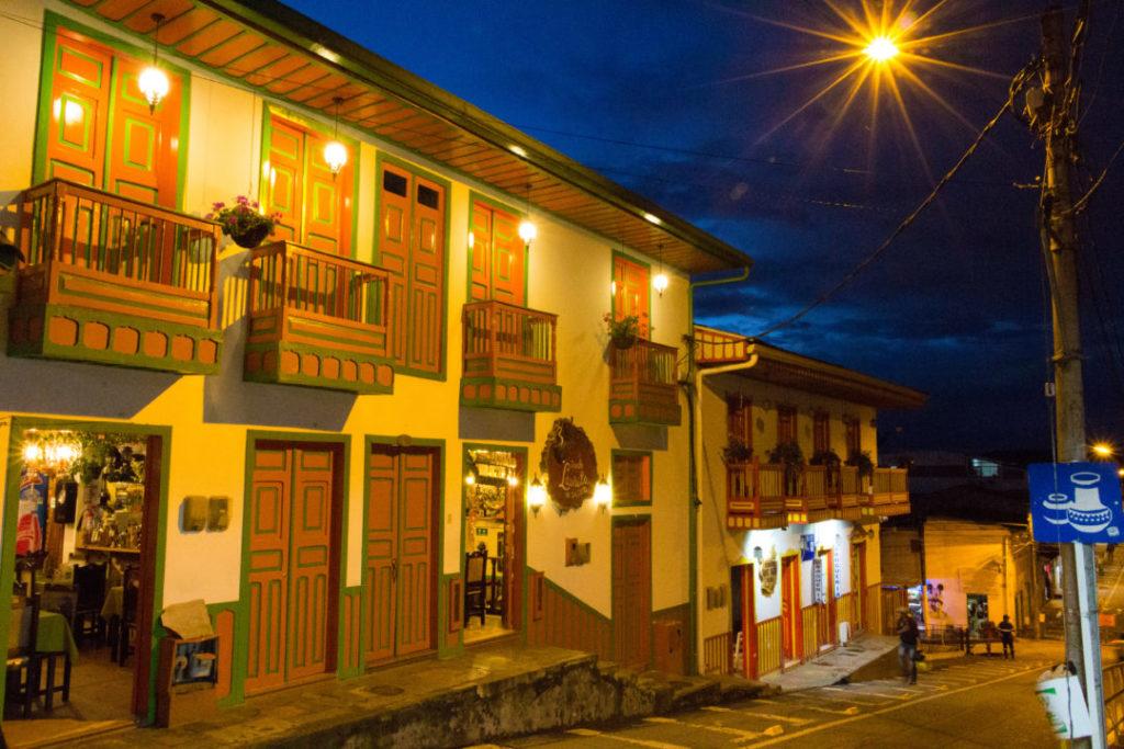 Salento - Le village de nuit