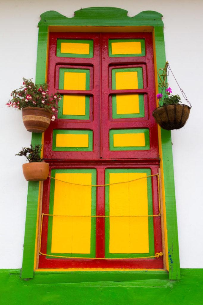 Salento - Porte jaune