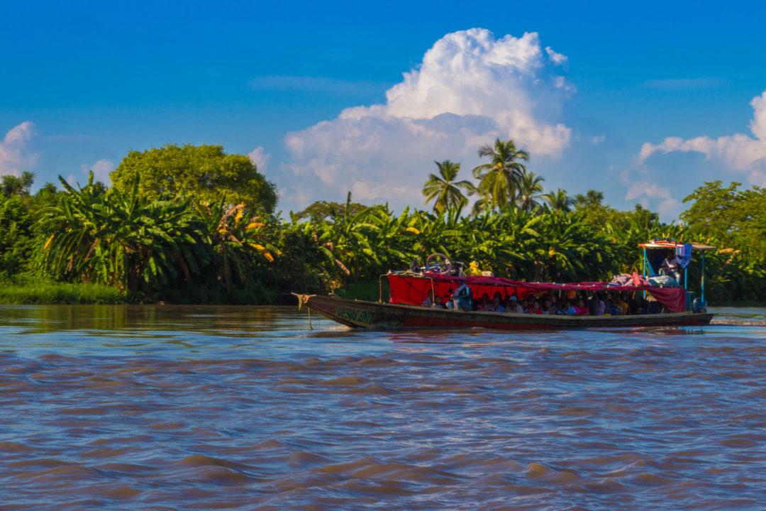 Rio Magdalena - Bateau