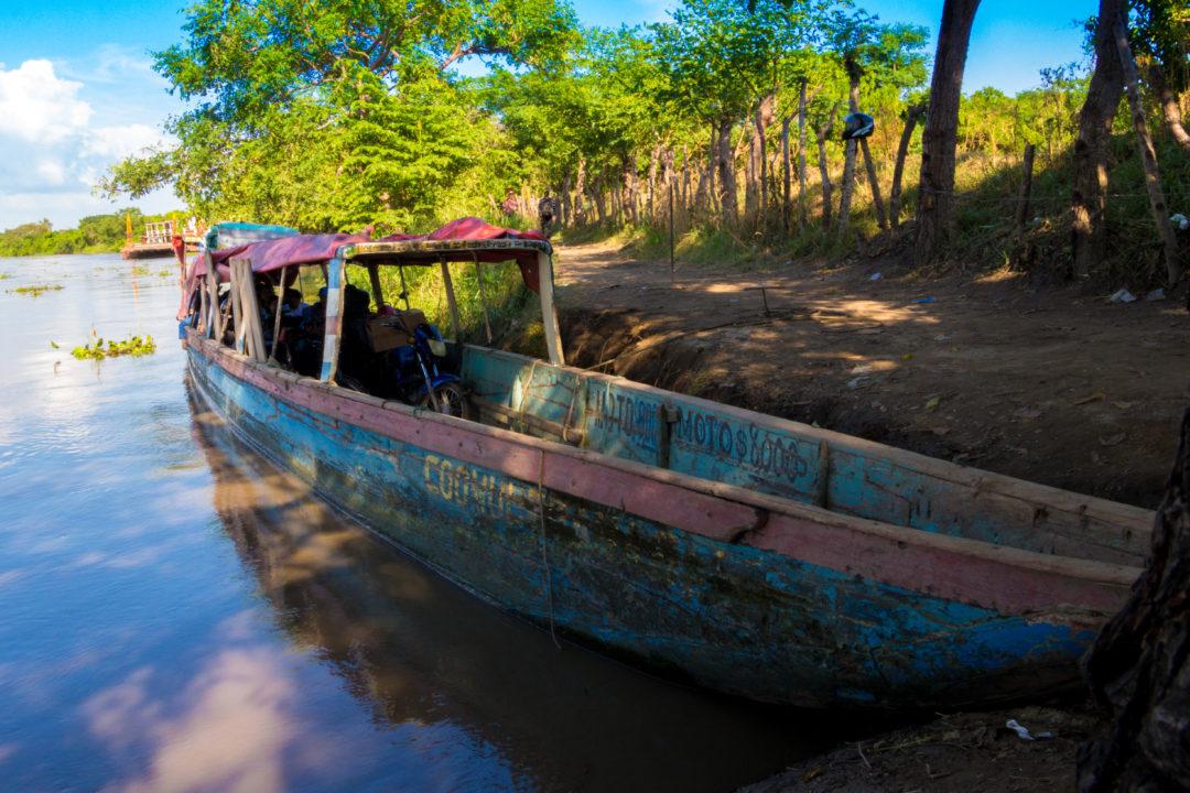 Rio Magdalena - Notre embarcation