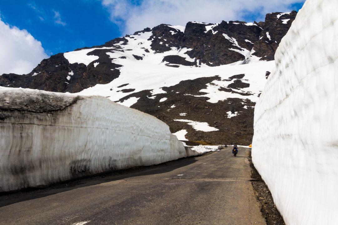 Col de l'Iseran - Murs de neige